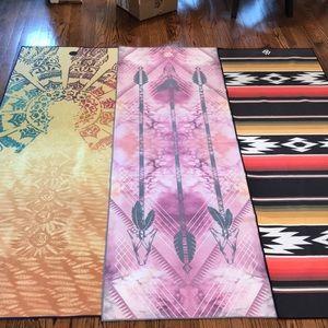 Accessories - 3 Yoga Mat Towels